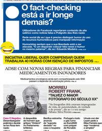 capa Jornal i de 11 setembro 2019
