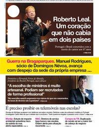 capa Jornal i de 16 setembro 2019