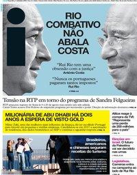 capa Jornal i de 17 setembro 2019
