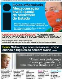 capa Jornal i de 19 setembro 2019