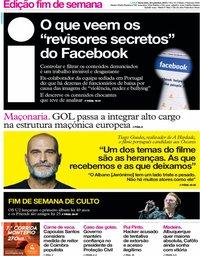 capa Jornal i de 20 setembro 2019