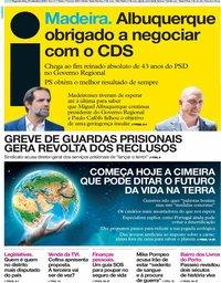 capa Jornal i de 23 setembro 2019