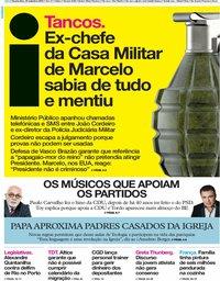 capa Jornal i de 25 setembro 2019