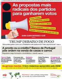 capa Jornal i de 26 setembro 2019