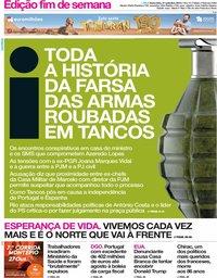 capa Jornal i de 27 setembro 2019