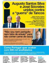 capa Jornal i de 30 setembro 2019