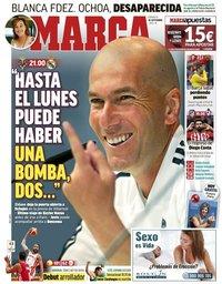 capa Jornal Marca de 1 setembro 2019