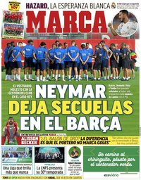 capa Jornal Marca de 4 setembro 2019