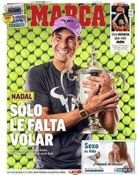 capa Jornal Marca de 10 setembro 2019