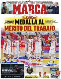 capa Jornal Marca de 11 setembro 2019