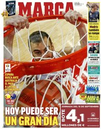 capa Jornal Marca de 13 setembro 2019