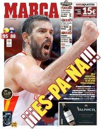 capa Jornal Marca de 14 setembro 2019