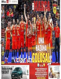 capa Jornal Marca de 16 setembro 2019