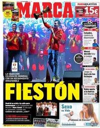 capa Jornal Marca de 17 setembro 2019