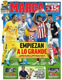capa Jornal Marca de 18 setembro 2019