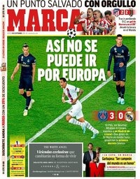 capa Jornal Marca de 19 setembro 2019