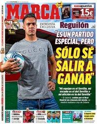 capa Jornal Marca de 21 setembro 2019