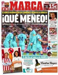 capa Jornal Marca de 22 setembro 2019