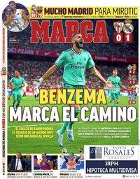 capa Jornal Marca de 23 setembro 2019