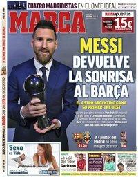 capa Jornal Marca de 24 setembro 2019