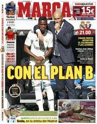 capa Jornal Marca de 25 setembro 2019