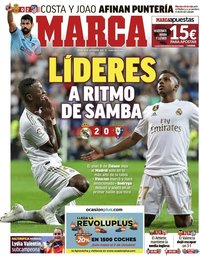 capa Jornal Marca de 26 setembro 2019