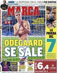 capa Jornal Marca de 27 setembro 2019