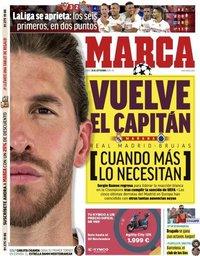 capa Jornal Marca de 30 setembro 2019