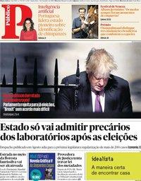 capa Público de 5 setembro 2019