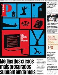 capa Público de 8 setembro 2019