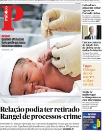 capa Público de 14 setembro 2019