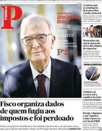 capa Público de 15 setembro 2019
