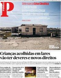 capa Público de 16 setembro 2019