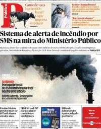 capa Público de 19 setembro 2019