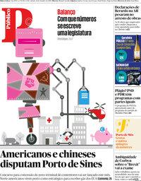 capa Público de 21 setembro 2019