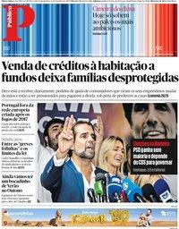 capa Público de 23 setembro 2019