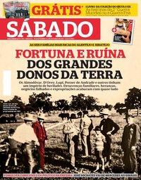 capa Revista Sábado de 26 setembro 2019