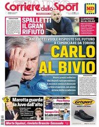 capa Corriere dello Sport de 4 outubro 2019