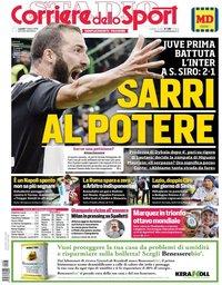 capa Corriere dello Sport de 7 outubro 2019