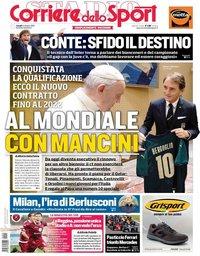 capa Corriere dello Sport de 14 outubro 2019