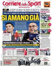 capa Corriere dello Sport de 22 outubro 2019