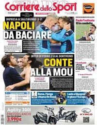 capa Corriere dello Sport de 24 outubro 2019