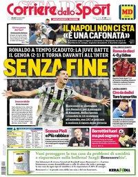capa Corriere dello Sport de 31 outubro 2019