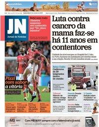 capa Jornal de Notícias de 24 outubro 2019