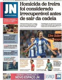 capa Jornal de Notícias de 28 outubro 2019