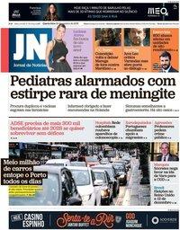 capa Jornal de Notícias de 30 outubro 2019