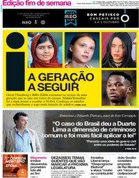 capa Jornal i de 3 outubro 2019