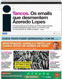 capa Jornal i de 10 outubro 2019