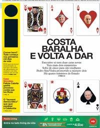 capa Jornal i de 16 outubro 2019