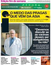 capa Jornal i de 18 outubro 2019